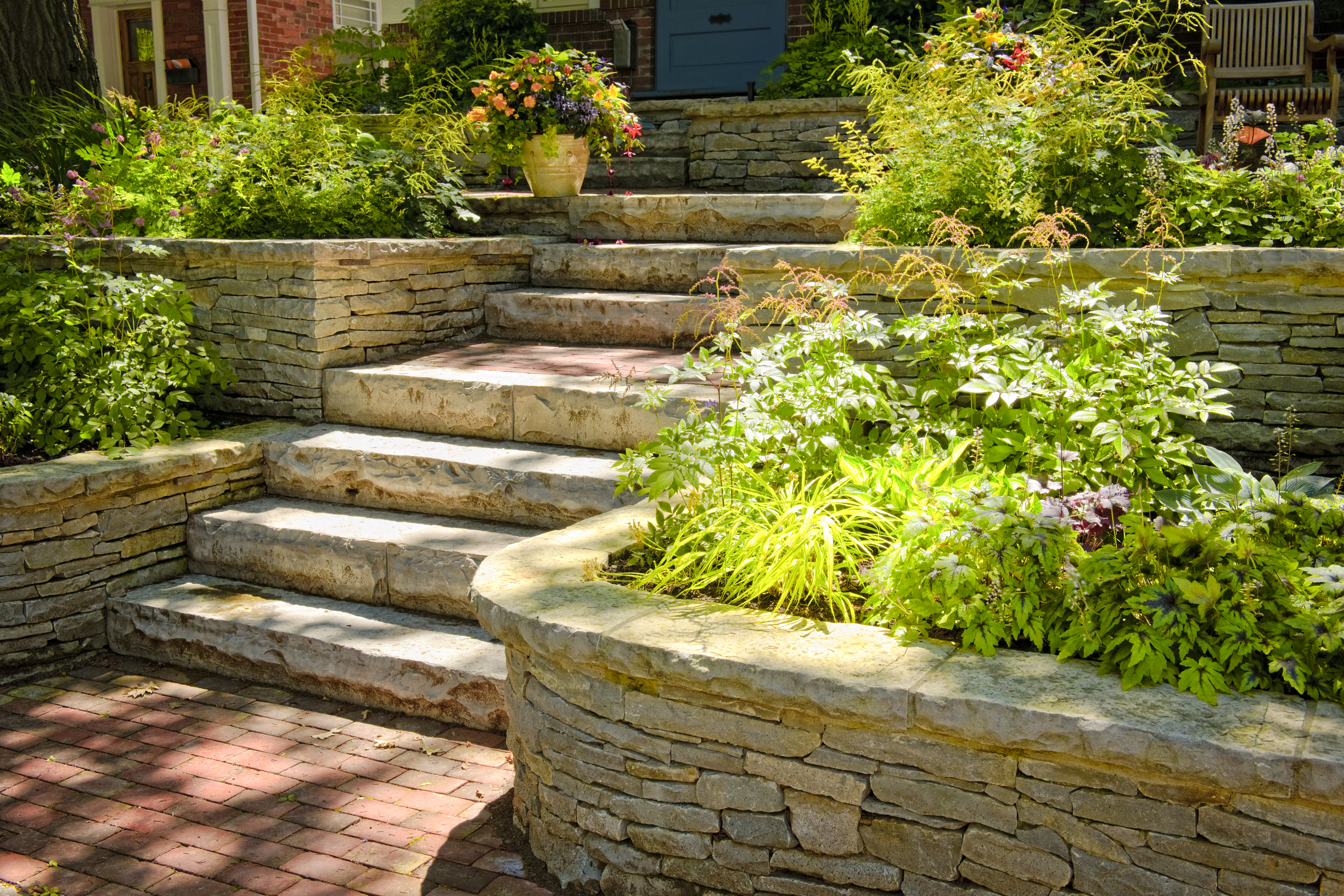 Get the right team of professional landscapers and garden for Professional landscape